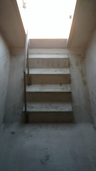 Easy Access Stairs and handrail